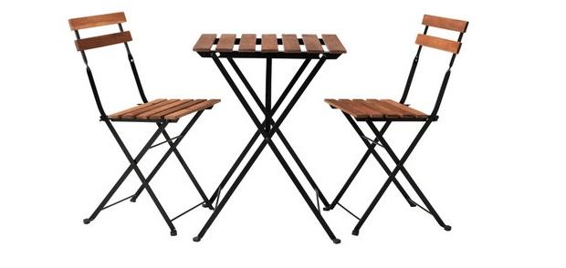 Tavoli in legno salvaspazio - Tavoli da giardino pieghevoli ikea ...